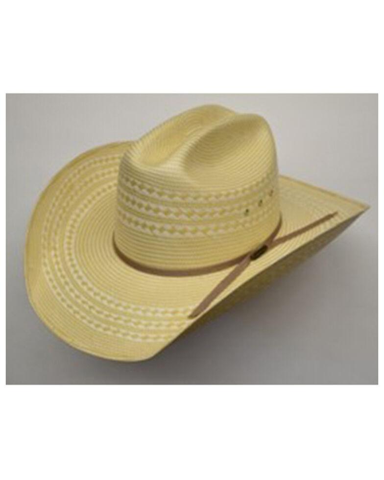 Hat Biz Natural Harper Bullrider Straw Western Hat , Natural, hi-res