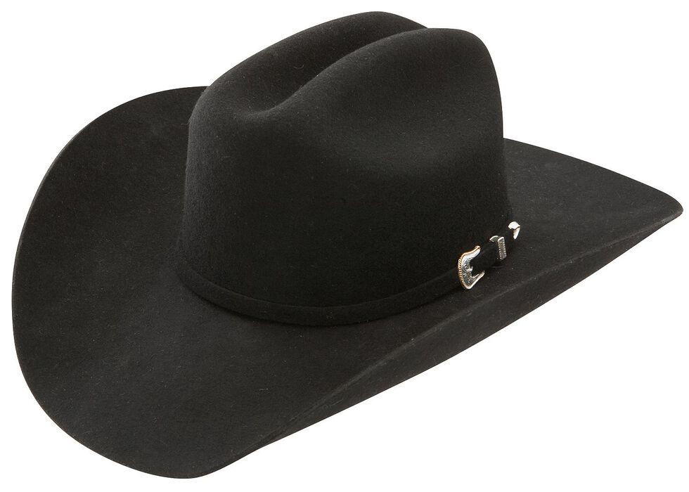 Stetson 3X Oakridge Wool Cowboy Hat, Black, hi-res