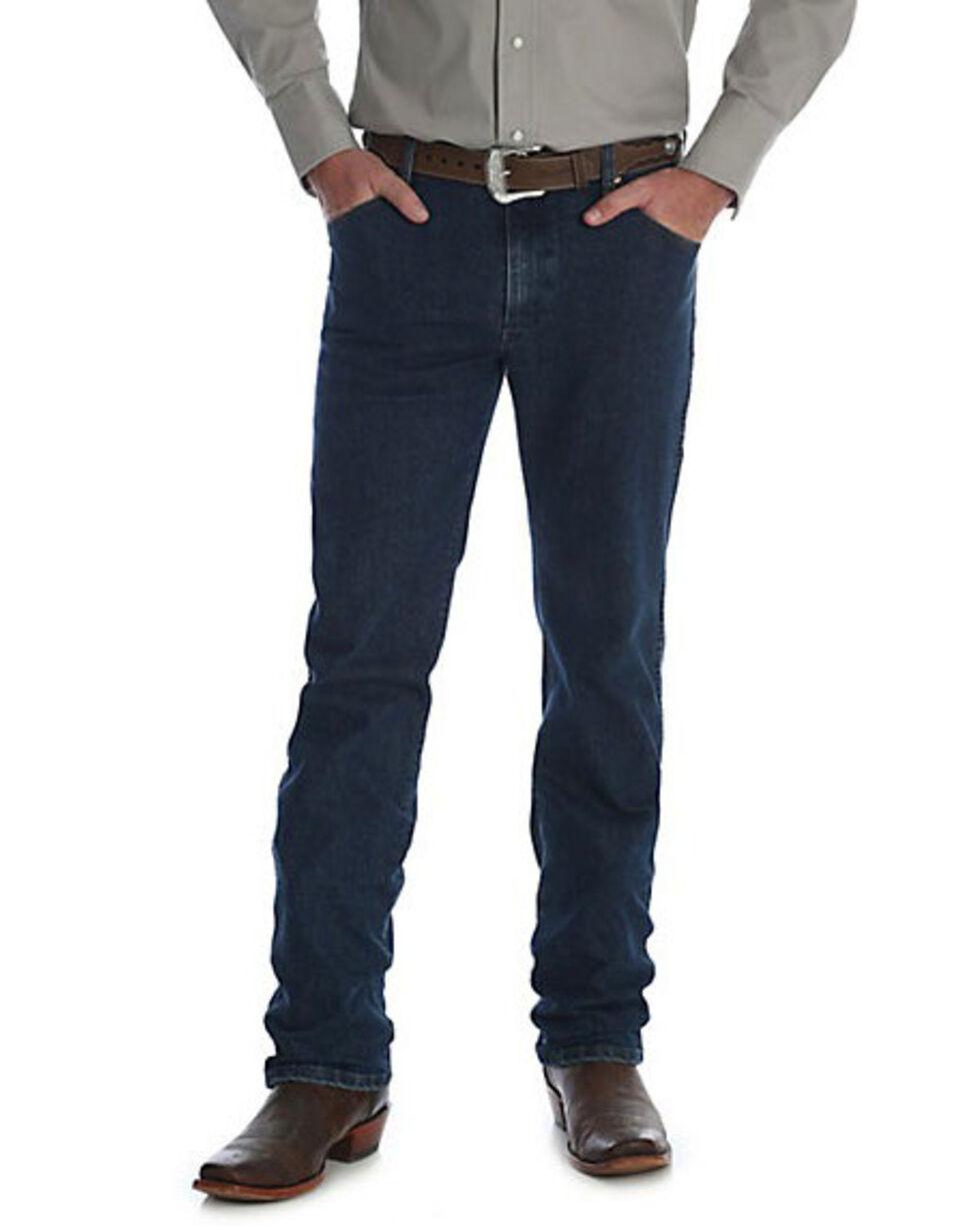 Wrangler Men's Midnight Rinse Premium Performance Cowboy Cut Jeans - Big & Tall , Indigo, hi-res