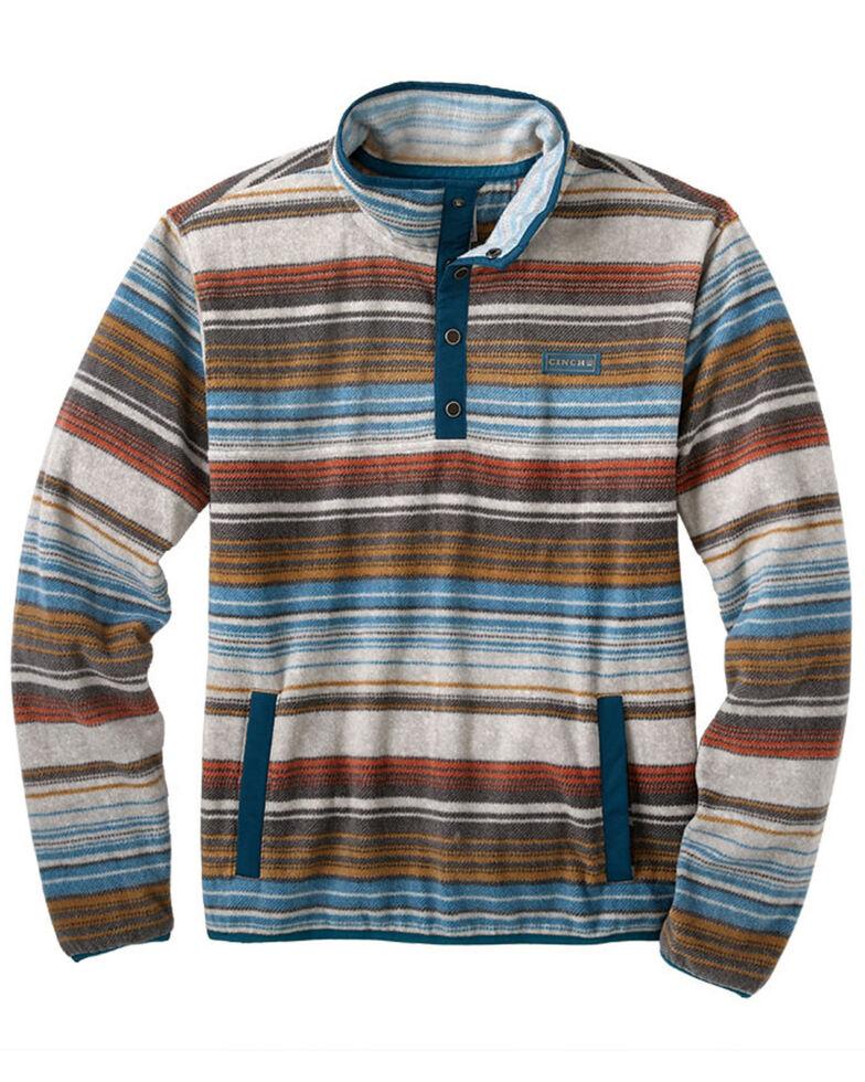 Cinch Boys' Multi Printed Polar Fleece Snap Pullover , , hi-res