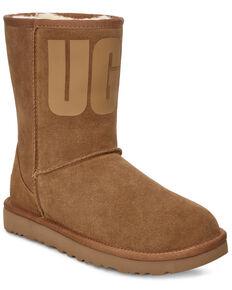 UGG Women's Classic Short Boots, Chestnut, hi-res