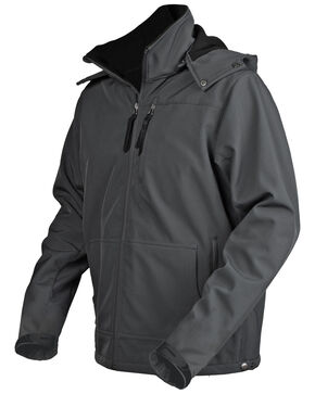STS Ranchwear Men's Grey Barrier Jacket , Grey, hi-res