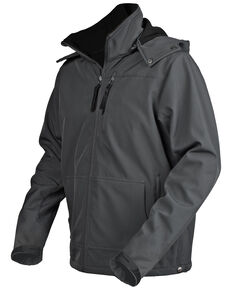 STS Ranchwear Men's Grey Barrier Jacket - Big , Grey, hi-res