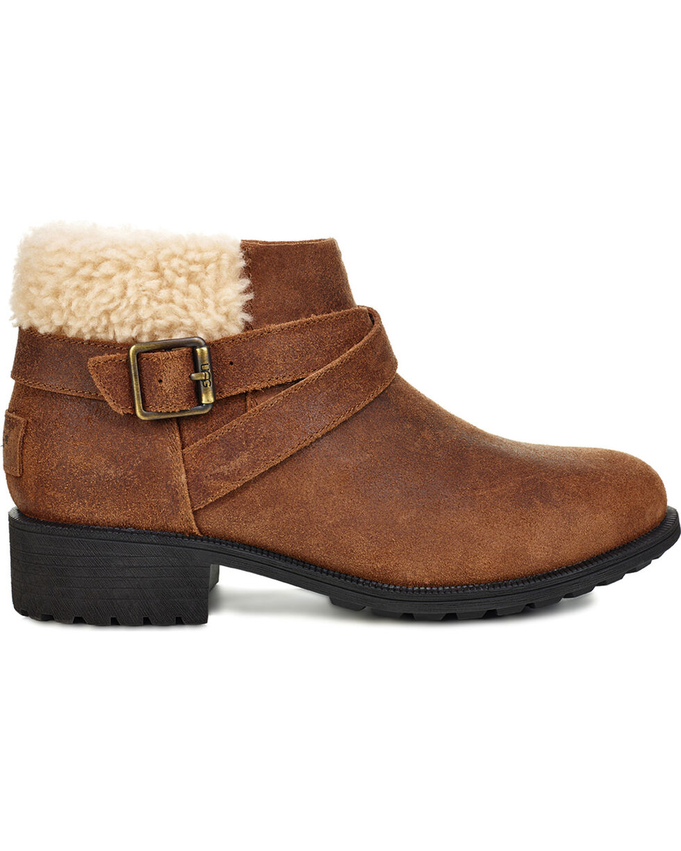 UGG Women's Benson Boots - Round Toe, Brown, hi-res