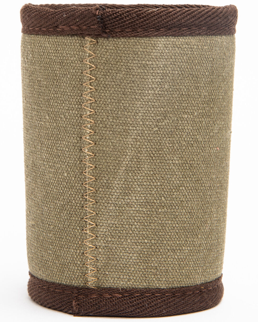 BB Ranch Country Music And Beer Coozie , Green, hi-res
