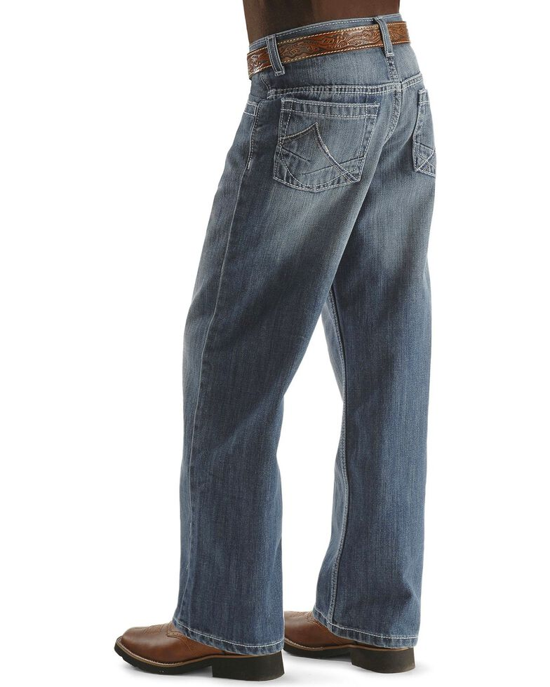 Wrangler 20X Jeans - No. 33 Extreme Relaxed Fit - Boys' 8-16 Regular, Denim, hi-res