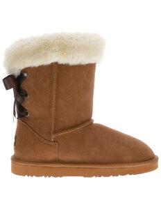 Lamo Footwear Women's Audrey Winter Boots - Round Toe, Chestnut, hi-res