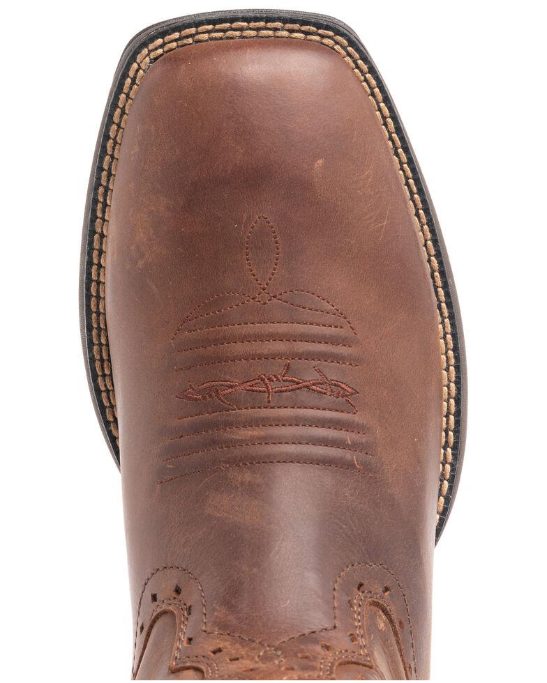 Cody James Men's Fuhsing Western Boots - Wide Square Toe, Honey, hi-res