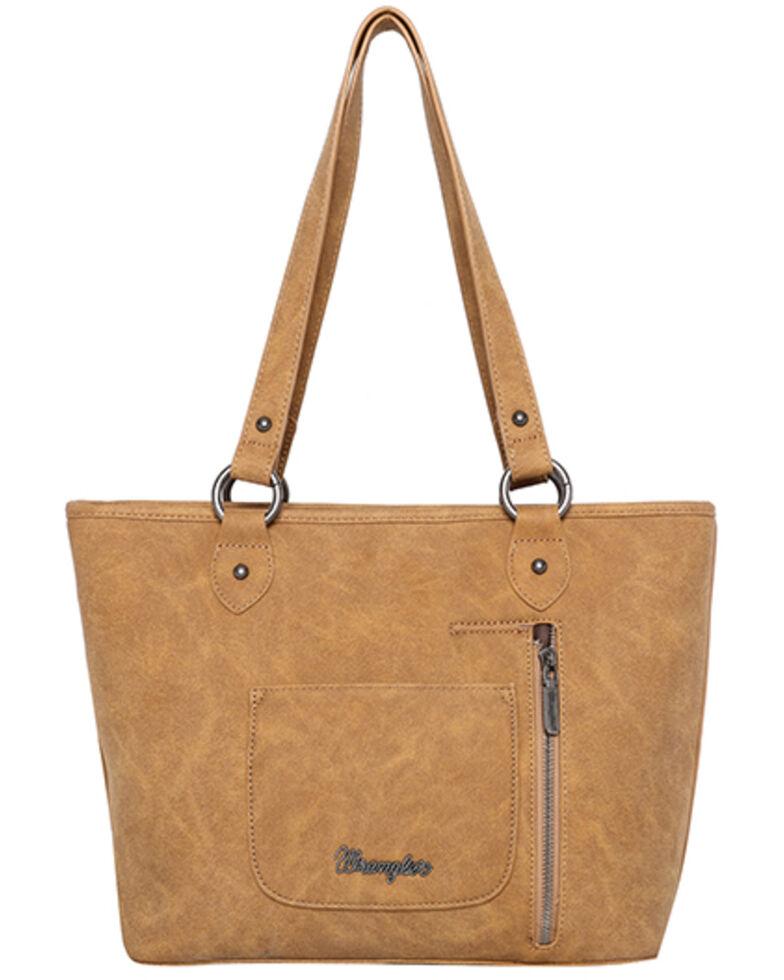 Montana West Women's Wrangler Floral Tote Bag, Mustard, hi-res