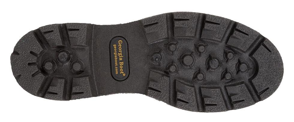 "Georgia Homeland 8"" Insulated Waterproof Work Boots - Round Toe, Brown, hi-res"