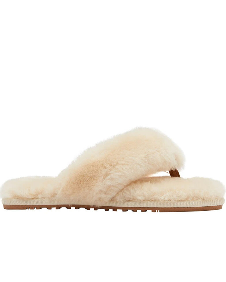 Lamo Footwear Women's Cream Amelia Sheepskin Sandals, Cream, hi-res