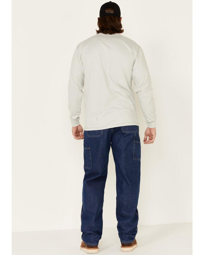 Carhartt Flame Resistant Signature Denim Dungaree Work Jeans, Denim, hi-res