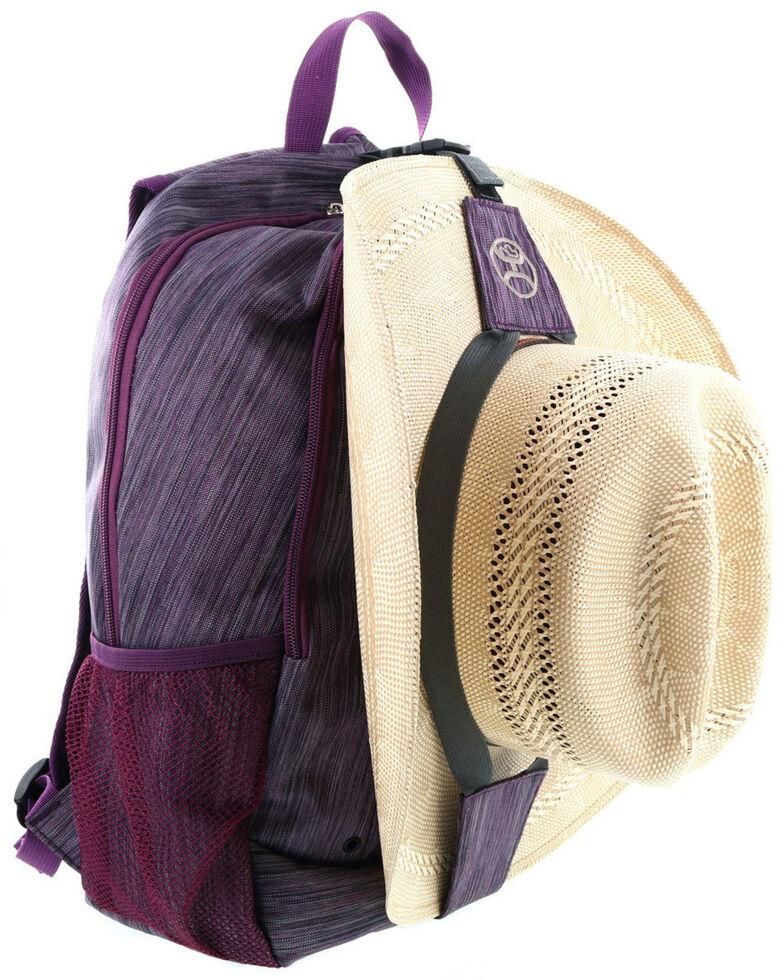 HOOey Rockstar Purple Backpack, No Color, hi-res