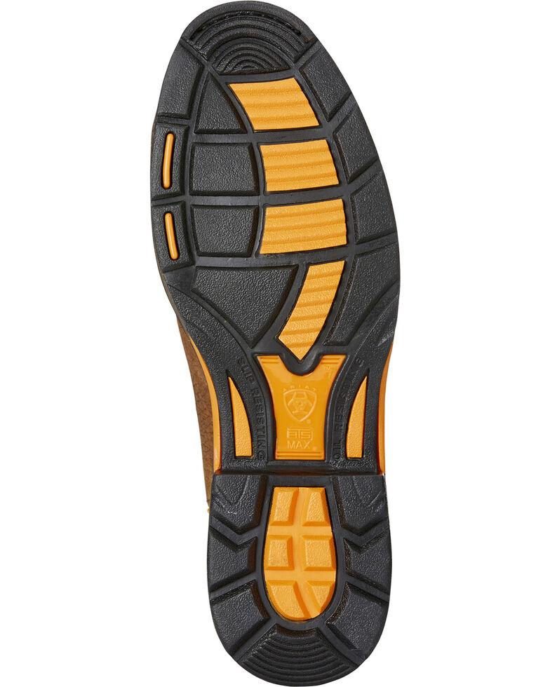 Ariat Men's Brown WorkHog Raptor Snake Print Boots - Round Toe , Brown, hi-res