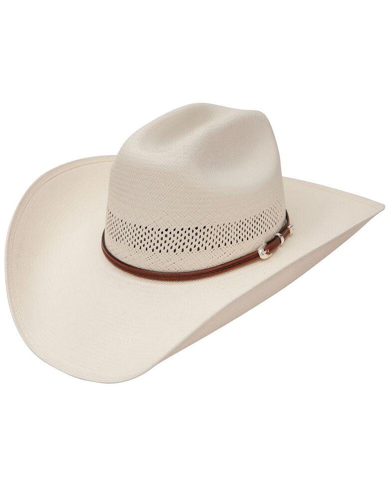 Stetson Men's Rincon Vented Straw Cowboy Hat, Natural, hi-res