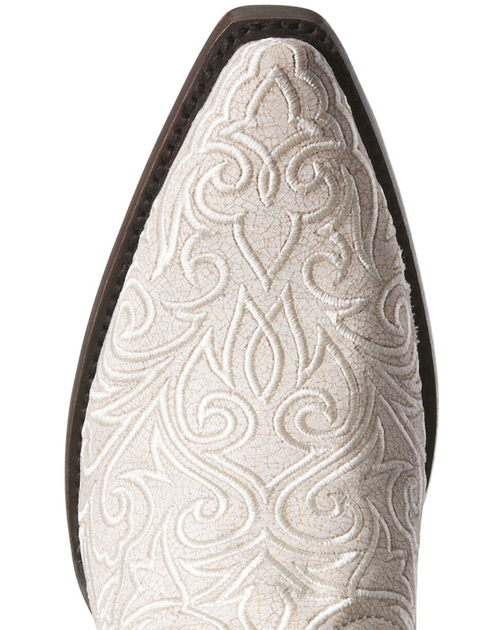 Ariat Women's Sterling White Western Boots - Snip Toe, White, hi-res