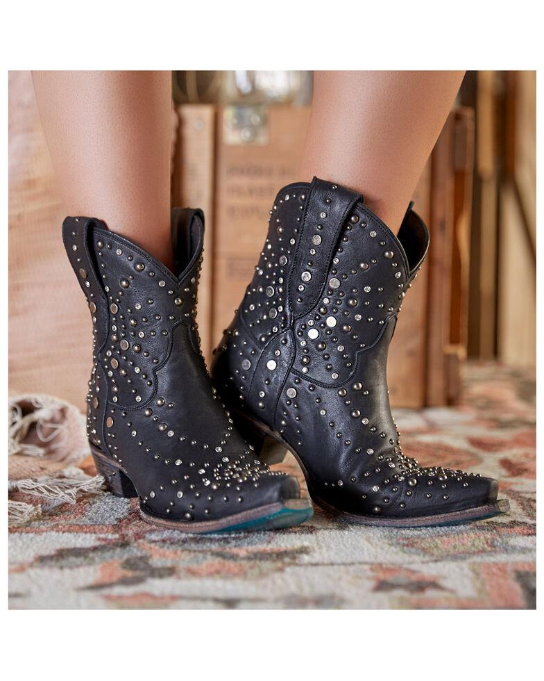 Lane Women's Sparks Fly Western Booties - Snip Toe, Black, hi-res