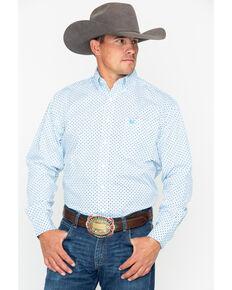 28b7c9bda Panhandle Men's Comal Vintage Long Sleeve Western Shirt