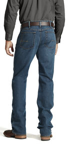Ariat Men's Jeans - M4 Rebar Bootcut Relaxed Fit, Denim, hi-res