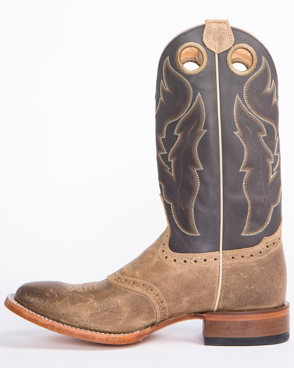 Cody James Men's Tan Roughout Western Boots - Wide Square Toe, Tan, hi-res
