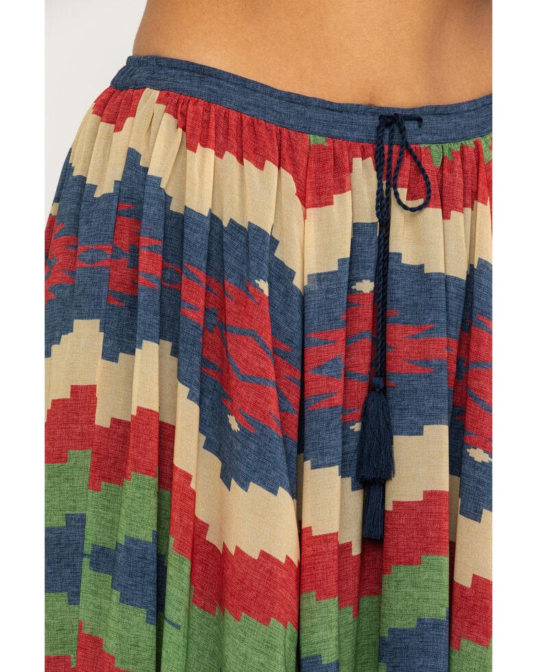 Tasha Polizzi Women's Madrean Blanket Print Tampico Skirt  , Multi, hi-res