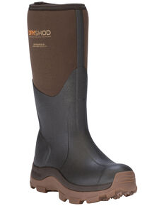 Dryshod Women's Hi Haymarker Farm Work Boots , Brown, hi-res