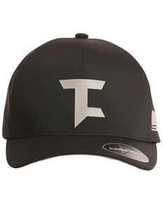 Tuf Cooper Men's Flexfit Performance Logo Cap, Black, hi-res