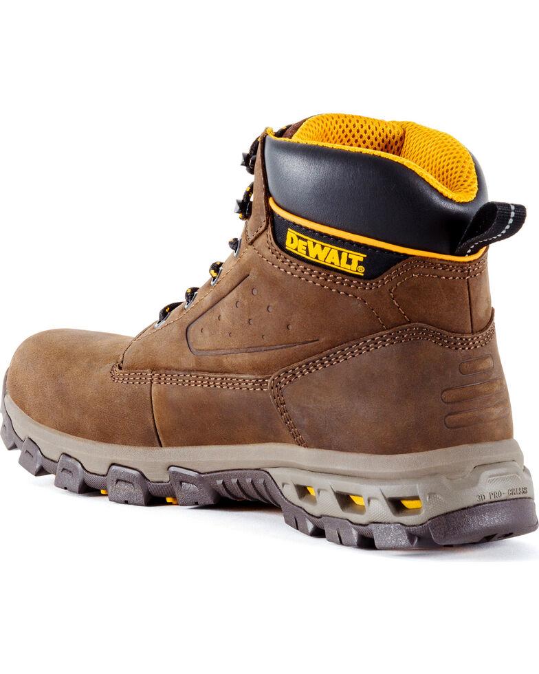 DeWalt Men's Halogen Work Boots - Aluminum Toe , Brown, hi-res