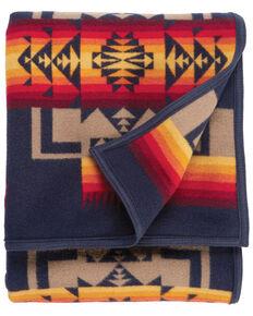 Pendleton Chief Joseph Indigo Blanket, Indigo, hi-res
