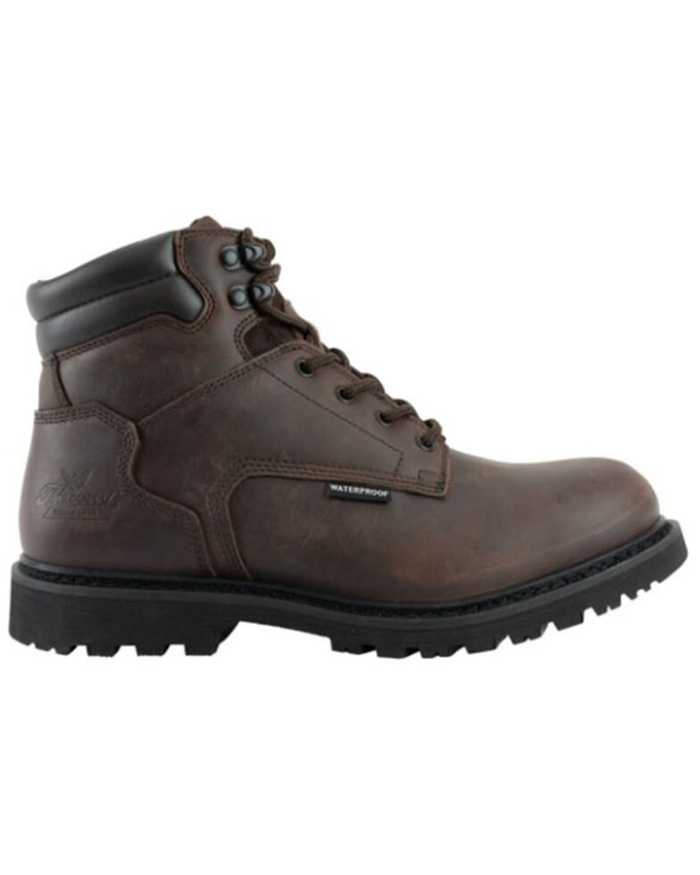 Thorogood Men's V-Series Insulated Work Boots - Soft Toe, Brown, hi-res