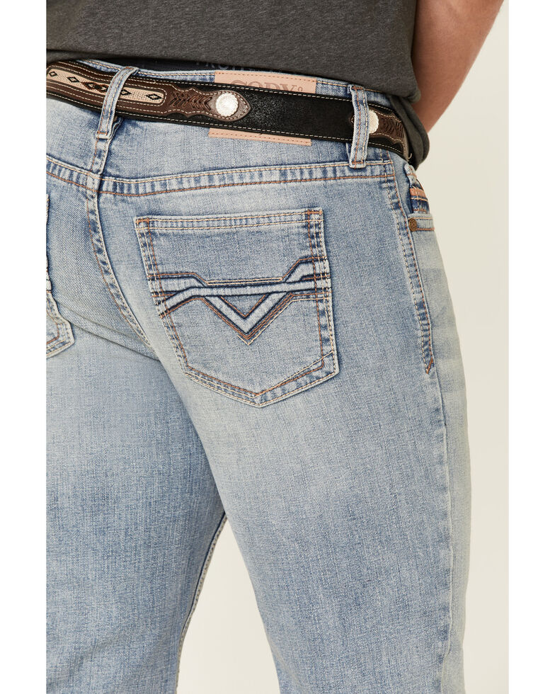 Cody James Core Men's Sawbuck Light Stretch Stackable Straight Jeans , Blue, hi-res