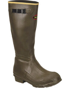 LaCrosse Men's Burly Classic Hunting Boots - Round Toe , Green, hi-res