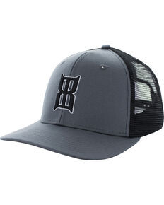 Bex Men's Charcoal Badlands Baseball Cap , Charcoal, hi-res