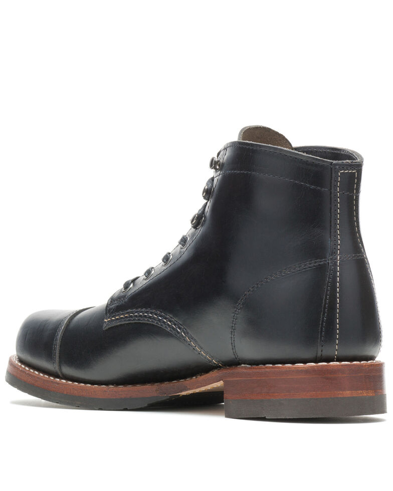 Wolverine Men's 1000 Mile Cap-Toe Work Boots - Soft Toe, Black, hi-res
