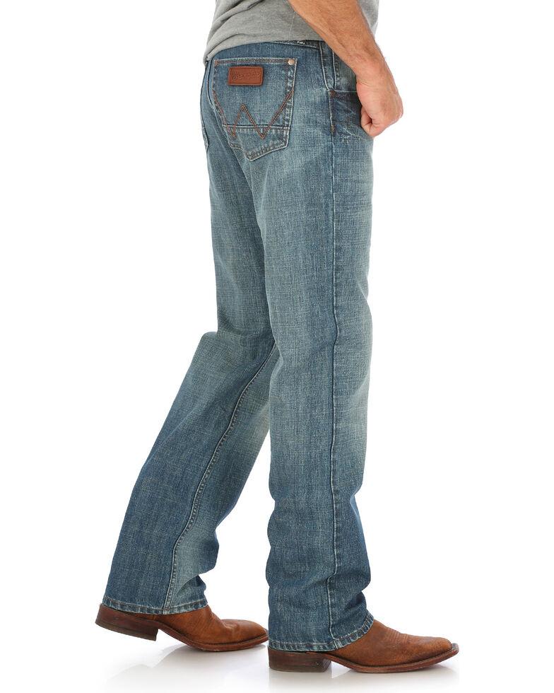 Wrangler Retro Men's Blue Relaxed Fit Jeans - Straight Leg , Indigo, hi-res