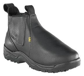 """Florsheim Men's Hercules 6"""" Met Guard Work Boots - Steel Toe, Black, hi-res"""