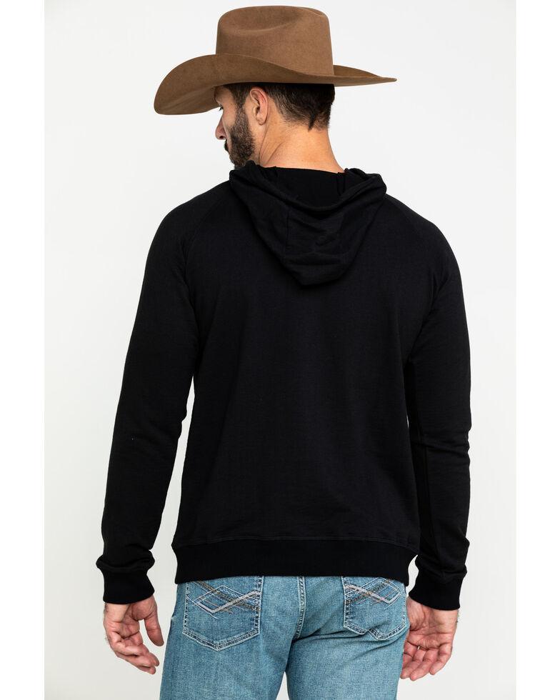 Dale Brisby Men's Logo Graphic Hooded Sweatshirt , Black, hi-res