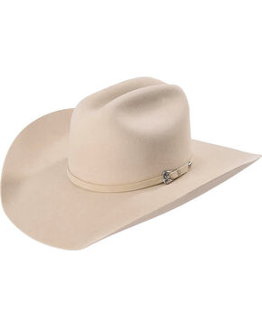 Justin Bent Rail Men's Buck 7X Bullet Cowboy Hat , Tan, hi-res