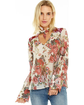Aratta Women's Diana Top , Mauve, hi-res