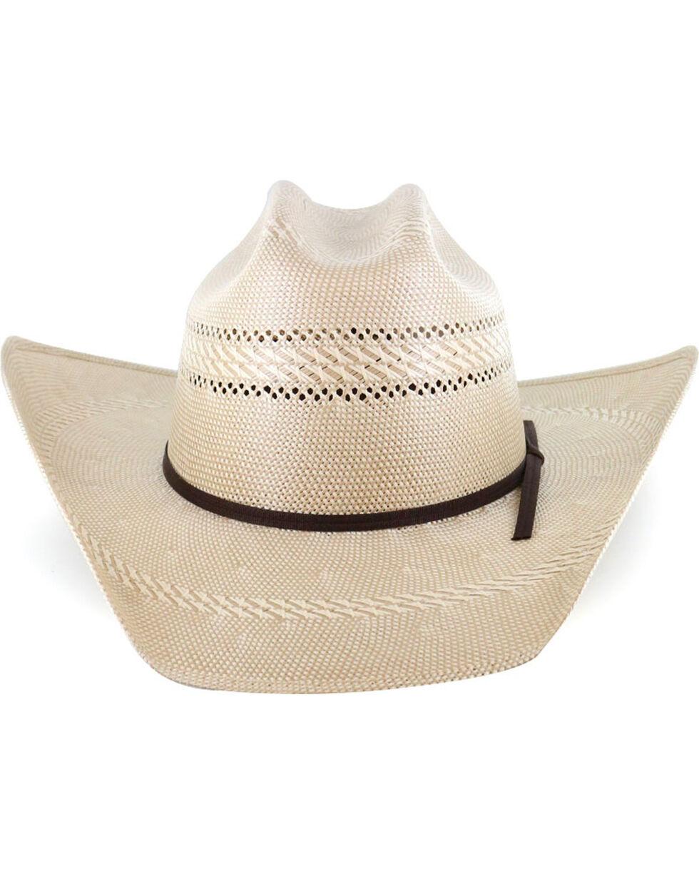 Cody James Men's Natural 50X Cattleman Crease Straw Cowboy Hat , Natural, hi-res