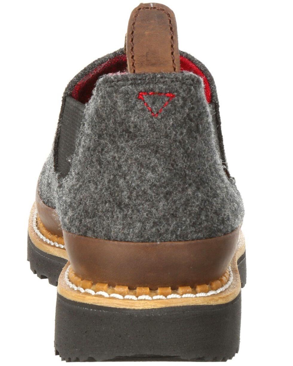 Georgia Boot Women's Pendleton Romeo Shoes - Round Toe, Heather Grey, hi-res
