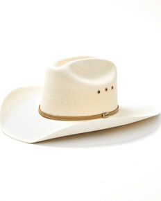 Atwood Hat Co. 7X Natural Marfa Western Palm Straw Hat , Natural, hi-res