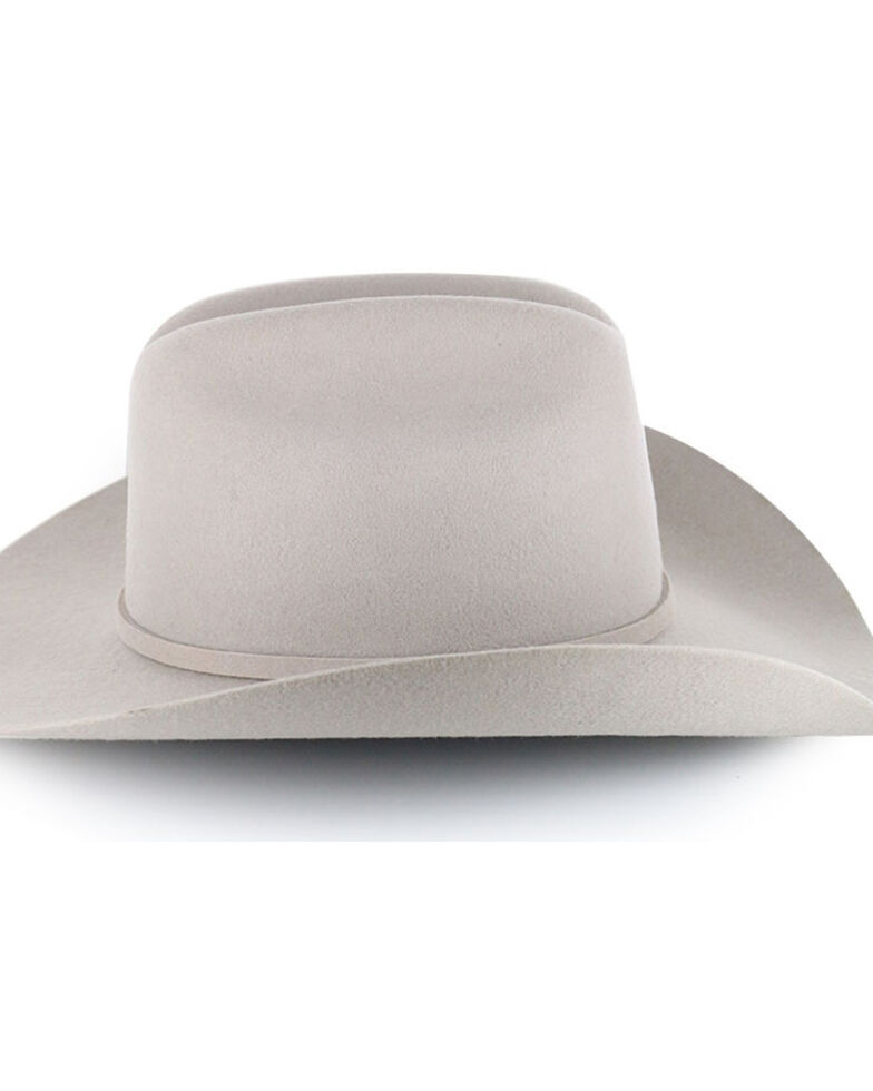 Cody James Moab 3X Pro Rodeo Wool Felt Cowboy Hat, Silverbelly, hi-res