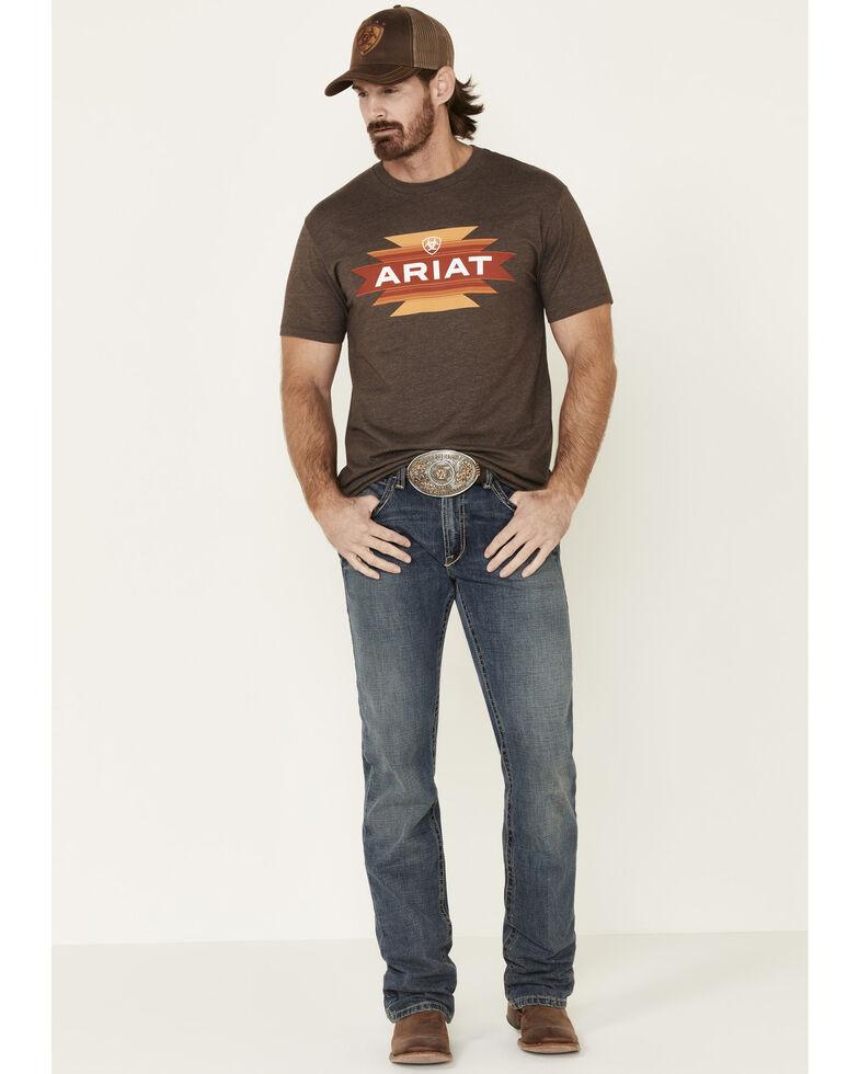 Ariat Men's Brown Native Angels Graphic T-Shirt , Brown, hi-res