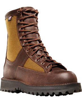 "Danner Men's Grouse 8"" Brown Hunting Boots , Brown, hi-res"