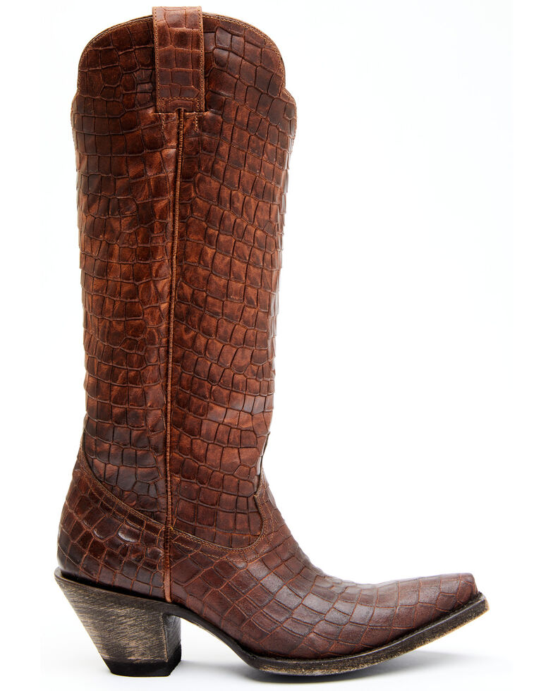 Idyllwind Women's Strut Whiskey Western Boots - Snip Toe, Brown, hi-res