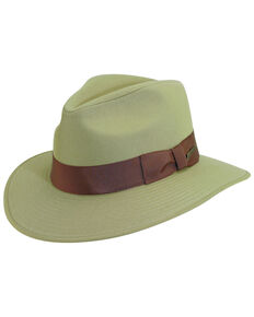 Indiana Jones Khaki Cotton Safari Hat, Khaki, hi-res