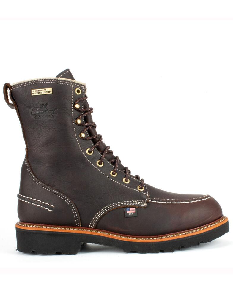 Thorogood Men's Pitstop Boots, Brown, hi-res