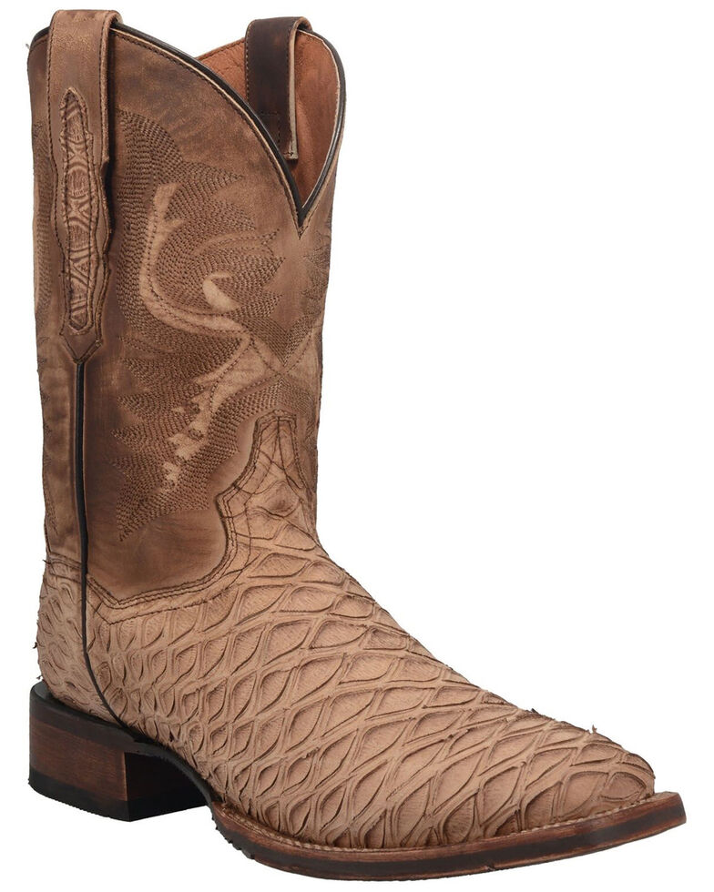 Dan Post Men's Ardy Western Boots - Square Toe, Sand, hi-res