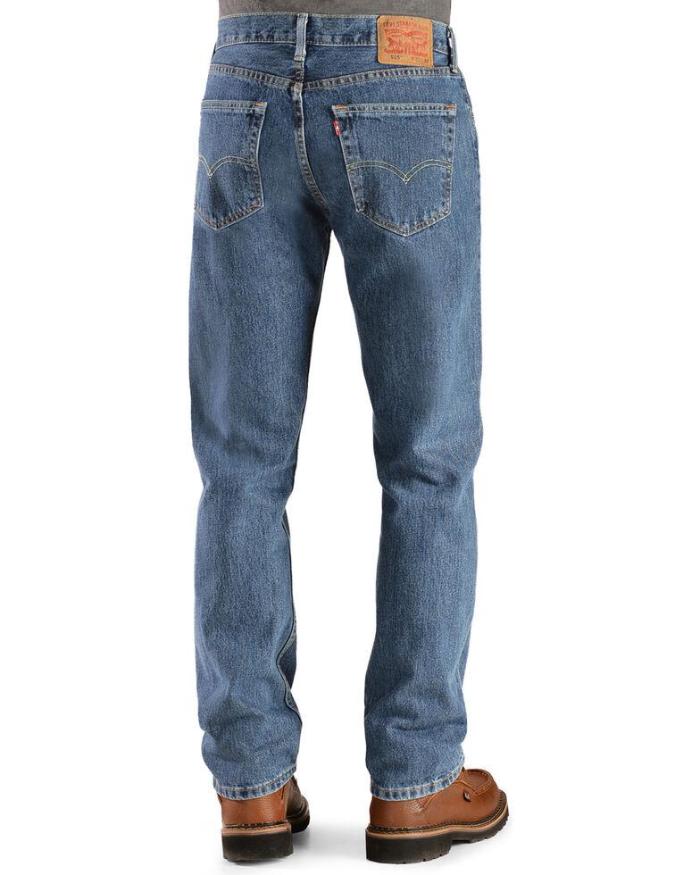 067aed7b838 Zoomed Image Levi's 505 Jeans - Prewashed Regular Fit, Stonewash, hi-res